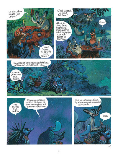 Page 1 Toto l'ornithorynque tome 8
