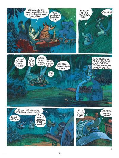 Page 3 Toto l'ornithorynque tome 8