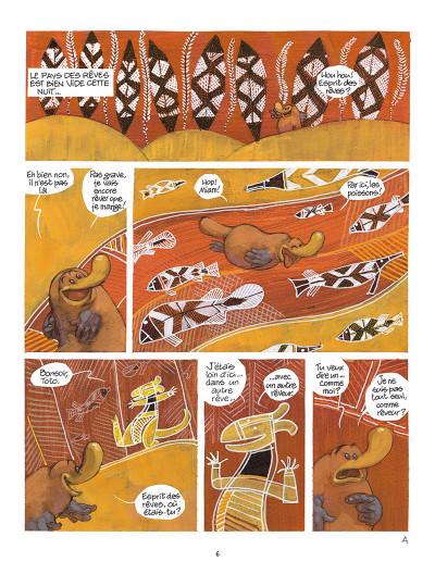 Page 4 Toto l'ornithorynque tome 8