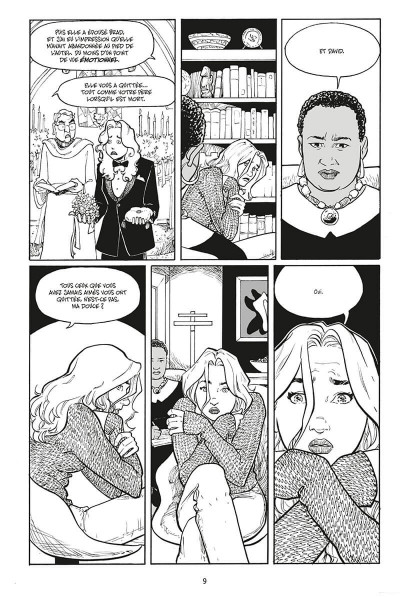 Page 9 Strangers in paradise - intégrale tome 3