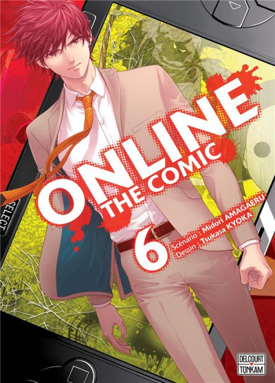 Couverture Online the comic tome 6