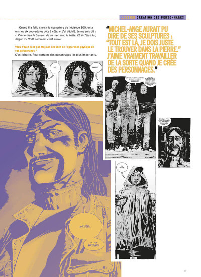 Page 0 Walking dead - comics compagnon