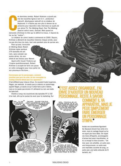 Page 9 Walking dead - comics compagnon