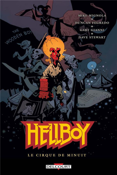 Couverture Hellboy tome 16