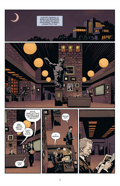 Page 1 Hellboy tome 16