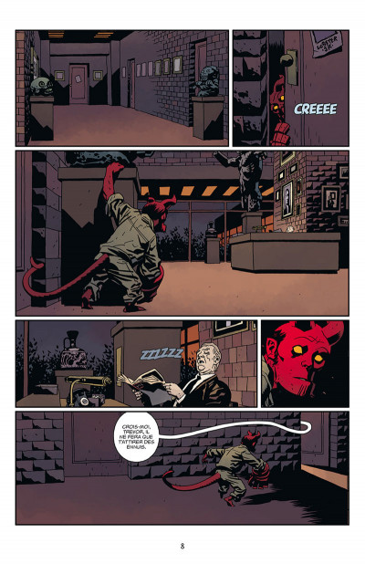 Page 2 Hellboy tome 16