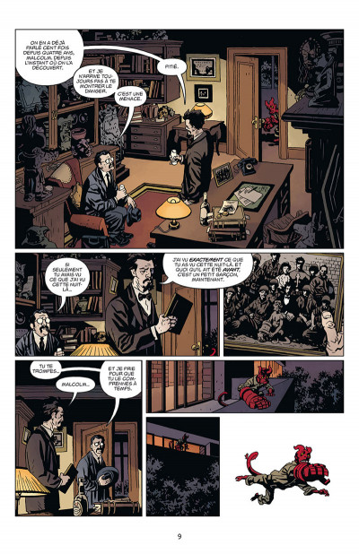 Page 3 Hellboy tome 16
