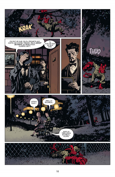 Page 4 Hellboy tome 16