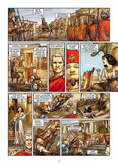 Page 3 Les reines de sang - Cléopâtre, la reine fatale tome 2