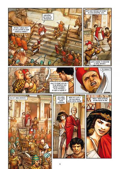 Page 4 Les reines de sang - Cléopâtre, la reine fatale tome 2