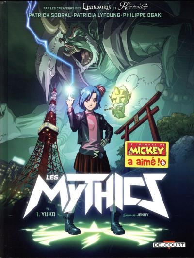 Couverture Les Mythics tome 1
