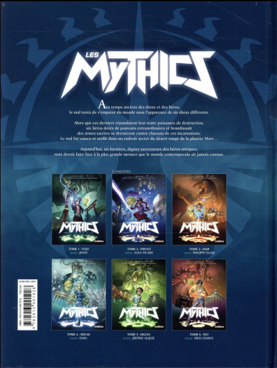 Dos Les Mythics tome 1