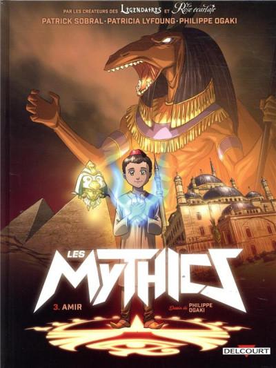 Couverture Les mythics tome 3