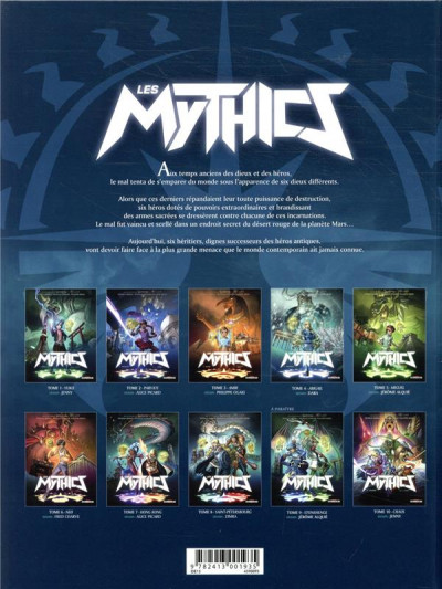 Dos Les mythics tome 3