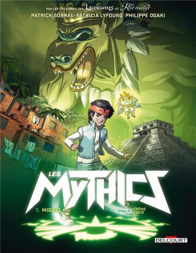 Couverture Les mythics tome 5