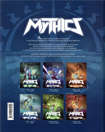 Dos Les mythics tome 5