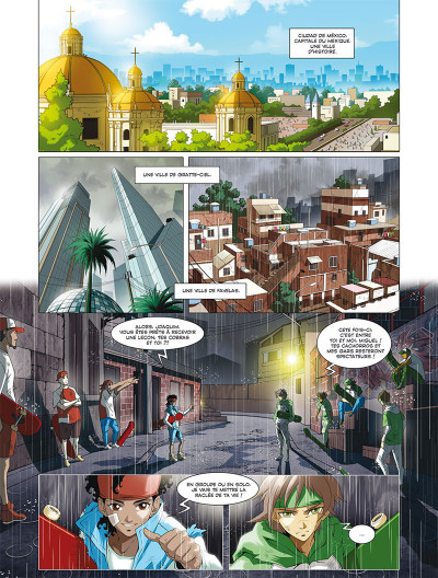 Page 1 Les mythics tome 5