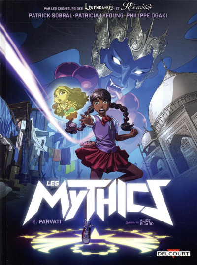 Couverture Les mythics tome 2