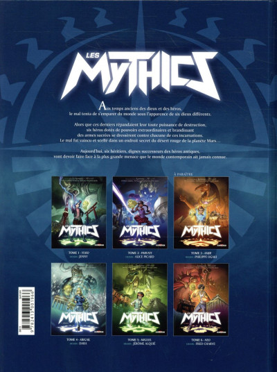 Dos Les mythics tome 2