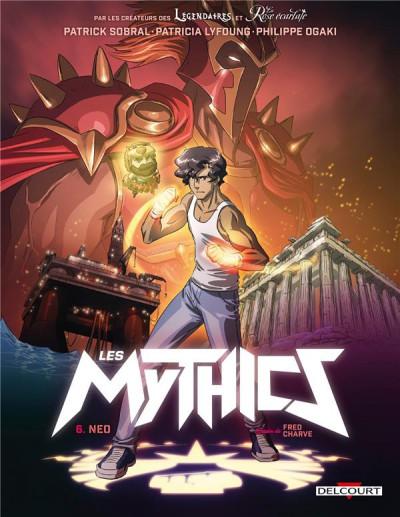 Couverture Les Mythics tome 6