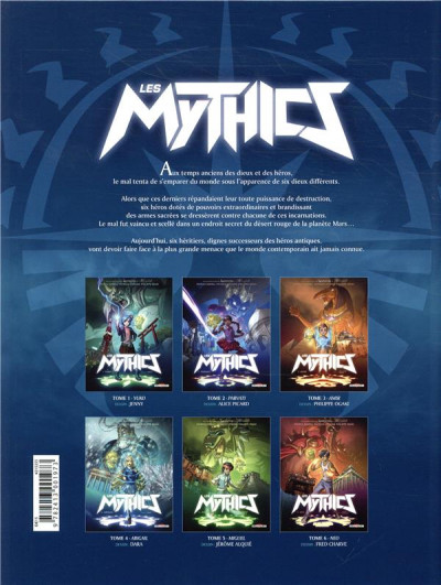 Dos Les Mythics tome 6