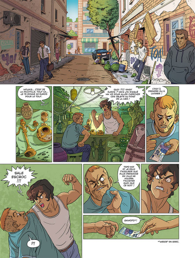 Page 3 Les Mythics tome 6