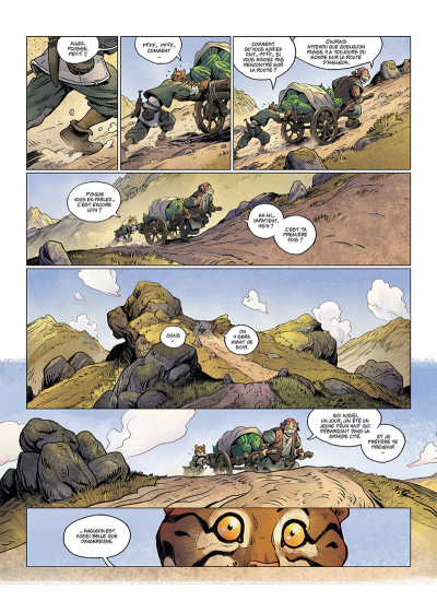 Page 1 Les 5 terres tome 1