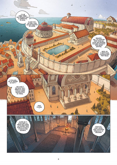 Page 4 Les 5 terres tome 1