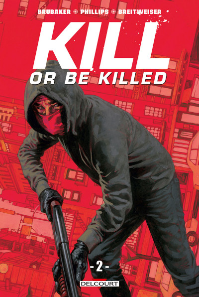 Couverture Kill or be killed tome 2
