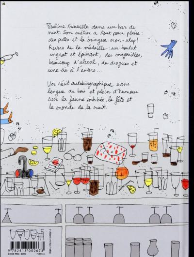 Dos Les noctambules - De l'autre côté du bar