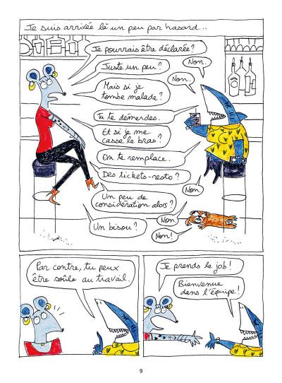 Page 3 Les noctambules - De l'autre côté du bar