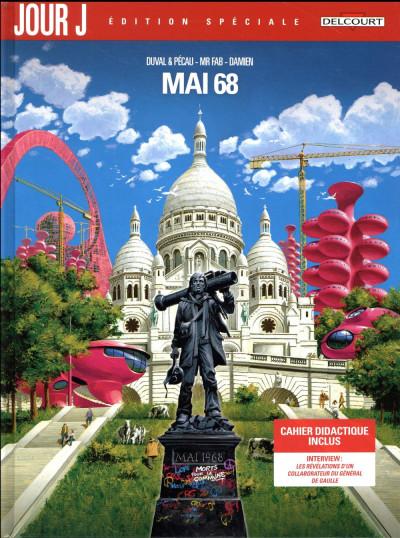 Couverture Jour J - Mai 68 - édition spéciale