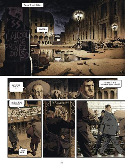 Page 1 Jour J - Mai 68 - édition spéciale