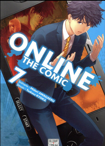Couverture Online the comic tome 7