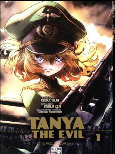 Couverture Tanya the evil tome 1