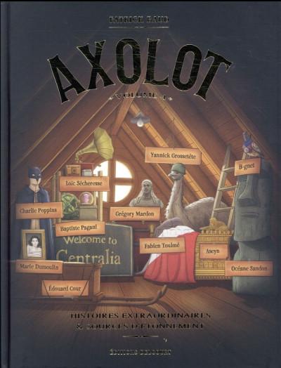 Couverture Axolot tome 4