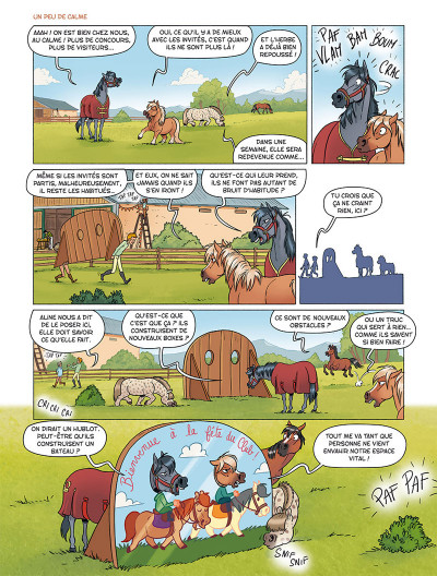 Page 1 À cheval ! tome 4