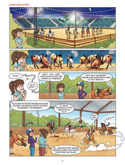 Page 3 À cheval ! tome 4