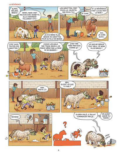 Page 4 À cheval ! tome 4