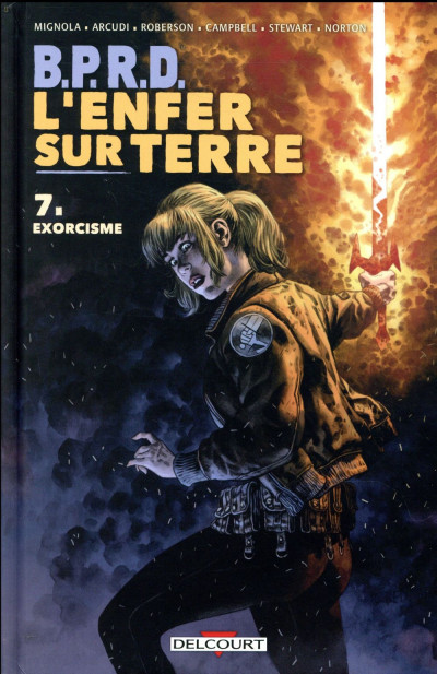 Couverture B.P.R.D. - L'enfer sur Terre tome 7