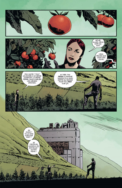 Page 3 B.P.R.D. - L'enfer sur Terre tome 7