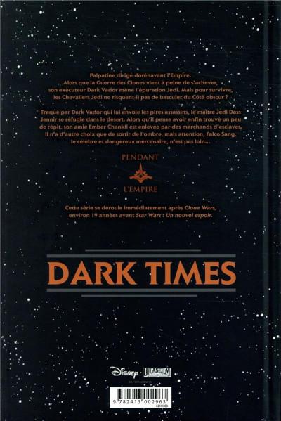 Dos Star Wars - dark times - intégrale tome 2