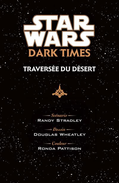Page 5 Star Wars - dark times - intégrale tome 2