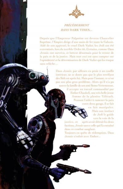Page 6 Star Wars - dark times - intégrale tome 2