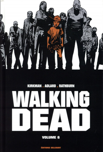 Couverture Walking dead - prestige tome 6