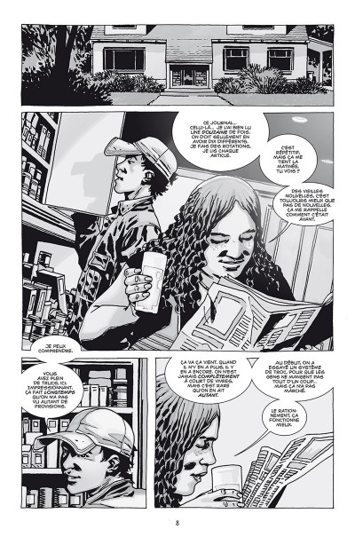 Page 4 Walking dead - prestige tome 7
