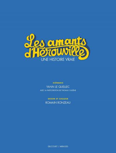 Page 2 Les amants d'Hérouville + ex-libris offert