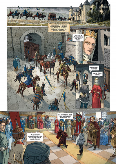 Page 1 Les reines de sang - Jeanne, La mâle reine tome 2