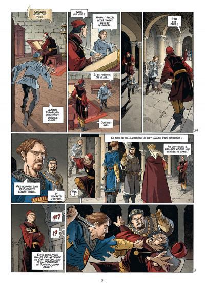 Page 3 Les reines de sang - Jeanne, La mâle reine tome 2