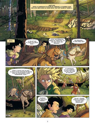 Page 1 Un pour tous ! tome 3